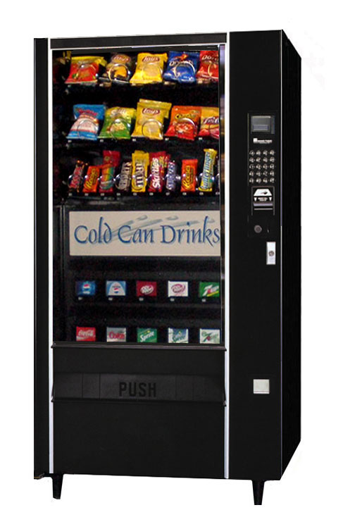 Can Coffee Vending Machine