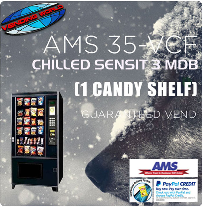 AMS Sensit 3 snack machine