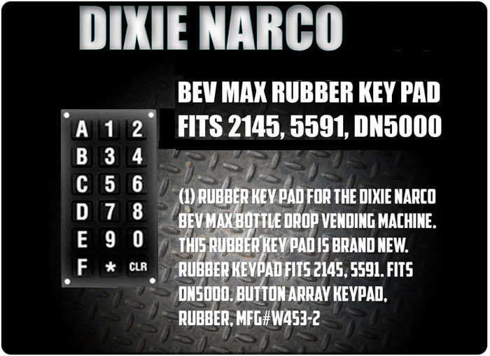 Rubber number for model 2145, 5591, DN5000