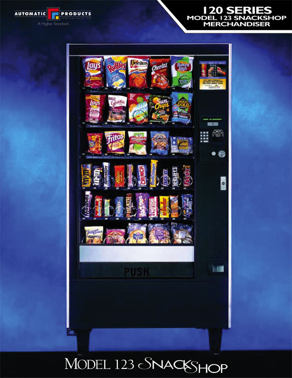 AP123 snack machine