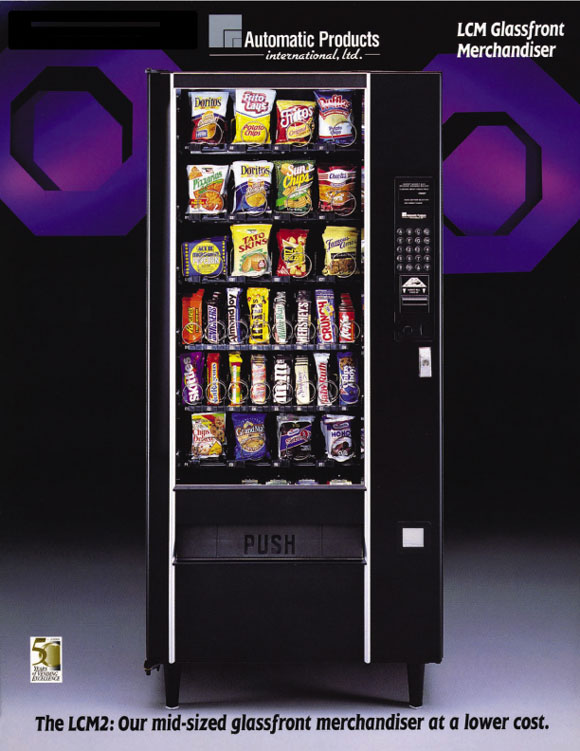 APLCM2 snack machine