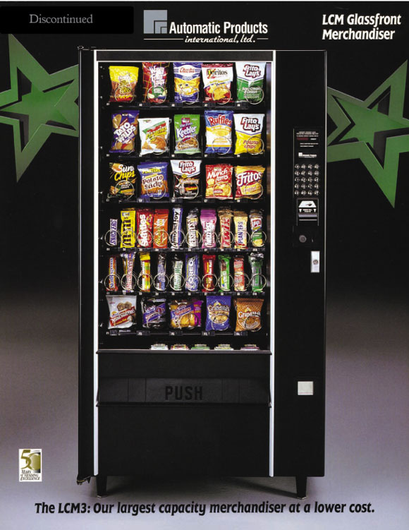 APLCM3 snack machine